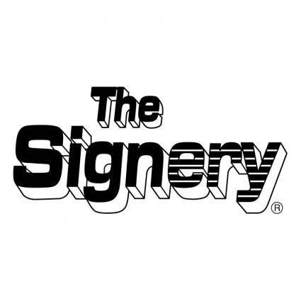 The signery