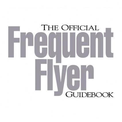free vector The official frequent flyer guidebook