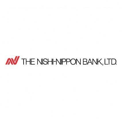 The nishi nippon bank