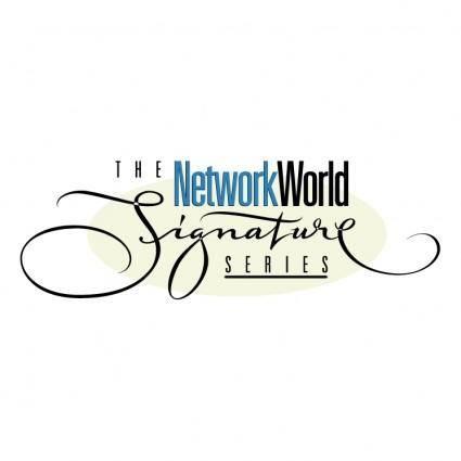 The networkworld signature series