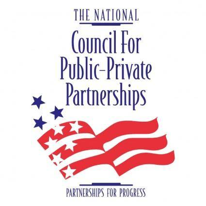 free vector The national council for public private partnerships