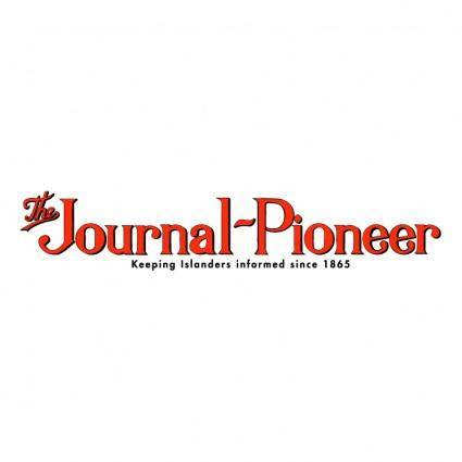 free vector The journal pioneer
