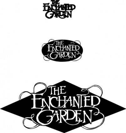 free vector The enchanted garden