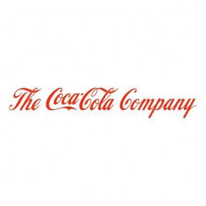 free vector The coca cola company