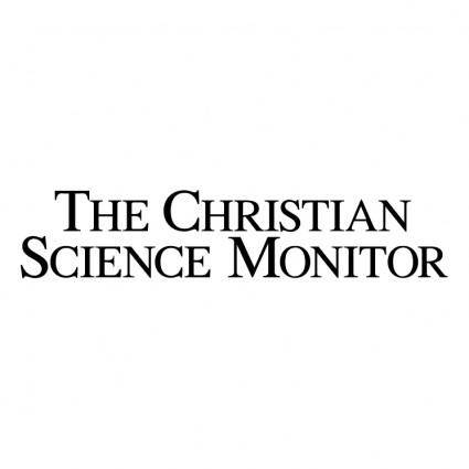 free vector The christian science monitor 0