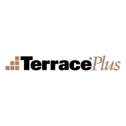 free vector Terrace plus