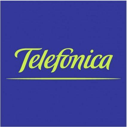 free vector Telefonica 1