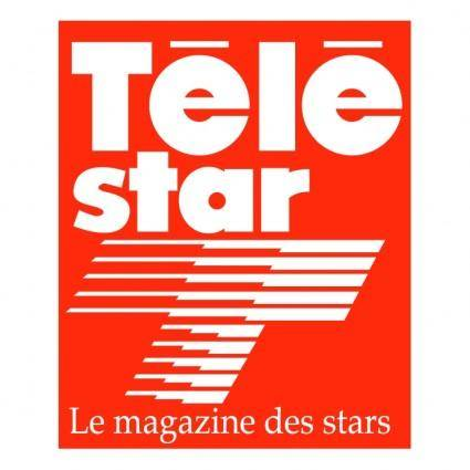 free vector Tele star