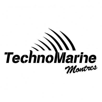 free vector Technomarine montres