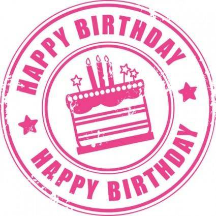 free vector Happy birthday element 01 vector