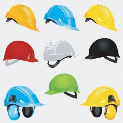 free vector Color helmet 02 vector
