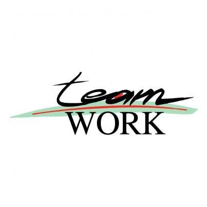 free vector Team work