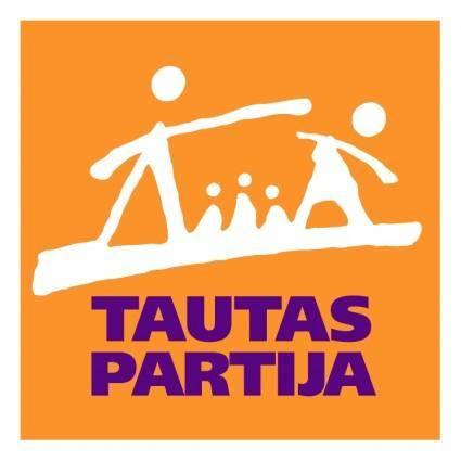 free vector Tautas partija