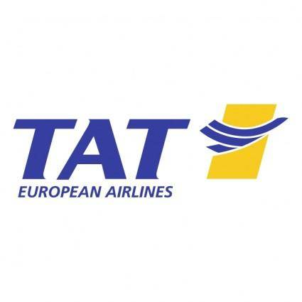 free vector Tat european airlines