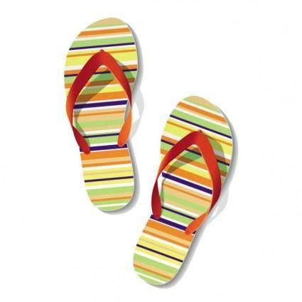free vector Summer sandals 01 vector