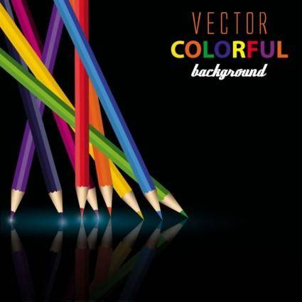free vector Color pencil 03 vector