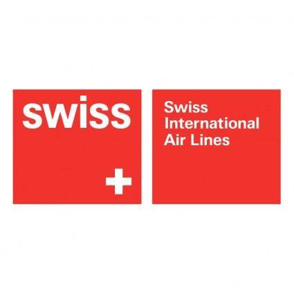 free vector Swiss international air lines