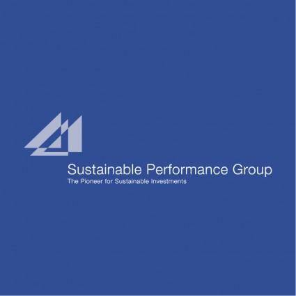 free vector Sustainable performance group
