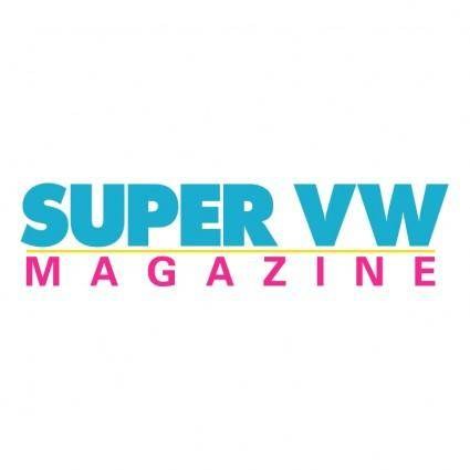 free vector Super vw magazine