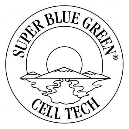 free vector Super blue green