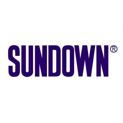 free vector Sundown