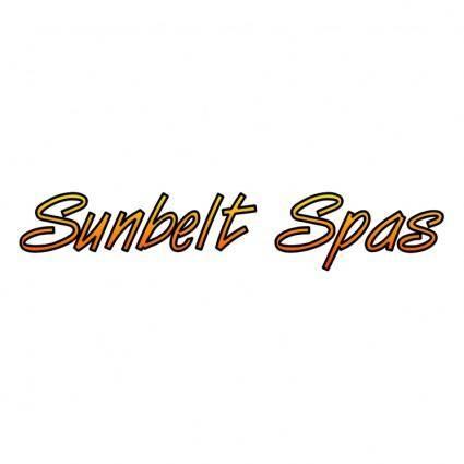 free vector Sunbelt spas