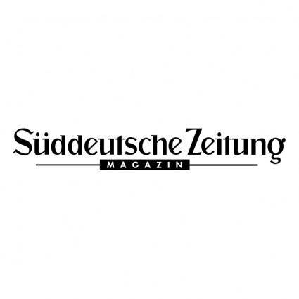 free vector Sueddeutsche zeitung magazin