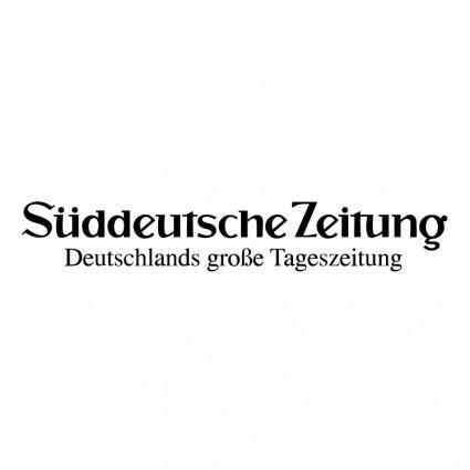 free vector Suddeutsche zeitung