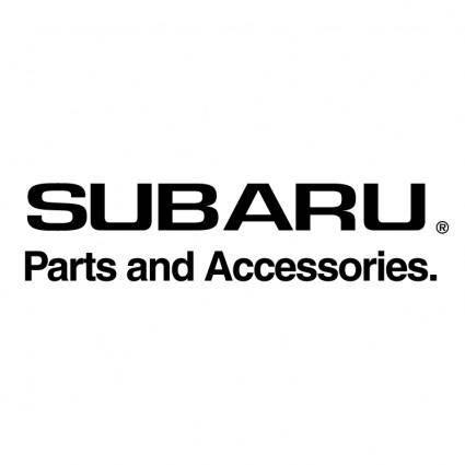 free vector Subaru parts and accessories