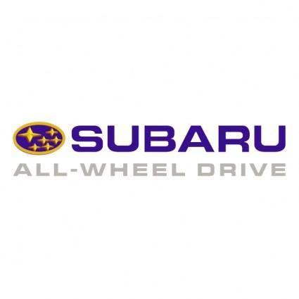 free vector Subaru 8