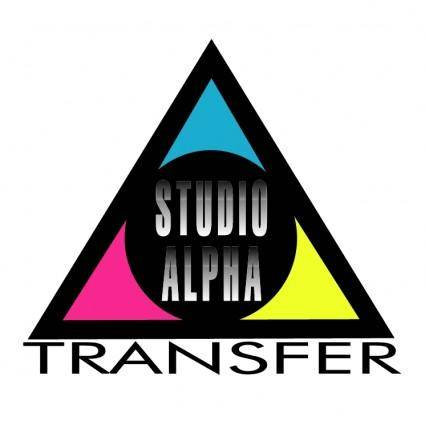 Studio alpha transfer