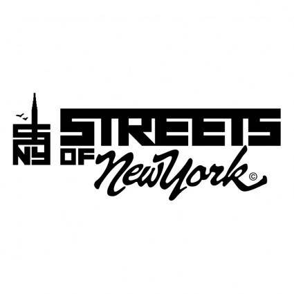 free vector Streets of new york