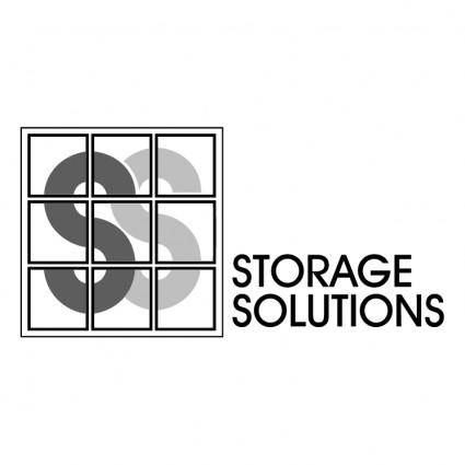free vector Storage solutions