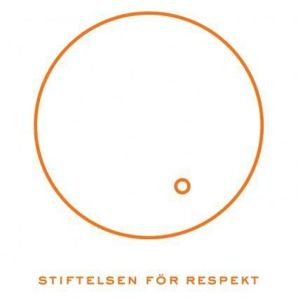 free vector Stiftelsen for respekt