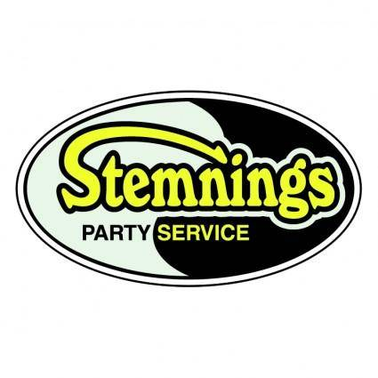 free vector Stemnings partyservice