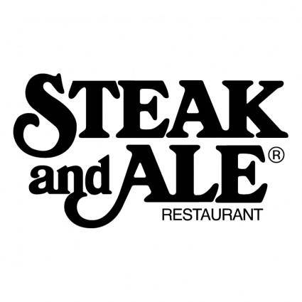 free vector Steak and ale