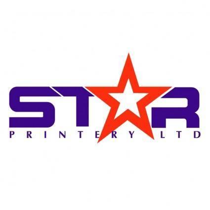 free vector Star printery