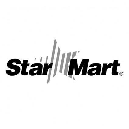 free vector Star mart