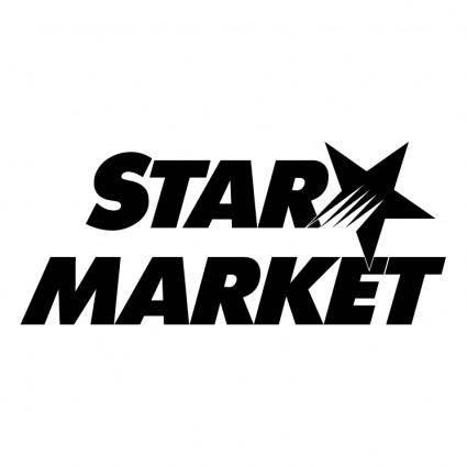 free vector Star market 0