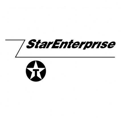 free vector Star enterprise