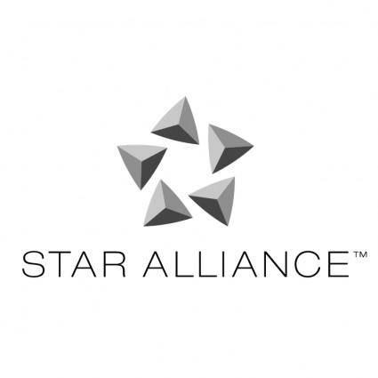 free vector Star alliance 1