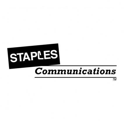 free vector Staples communications