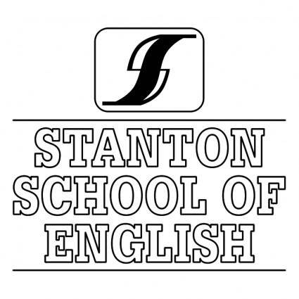 free vector Stanton school of english