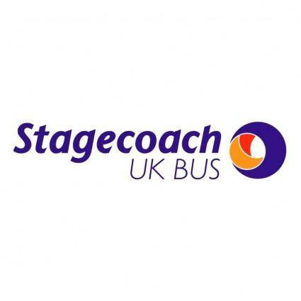 free vector Stagecoach uk bus