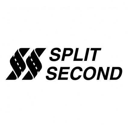 free vector Split second