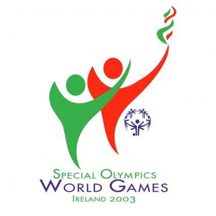 free vector Special olympics world games ireland 2003