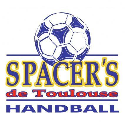 free vector Spacers de toulouse handball