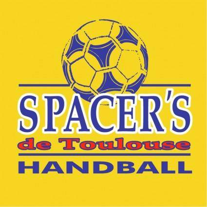 free vector Spacers de toulouse handball 0