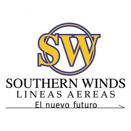 Southerm winds