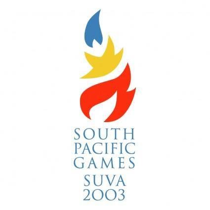 free vector South pacific games suva 2003